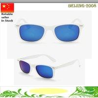Lentes de cristal Baratos-gafas de sol de marca de alta calidad negro lente de cristal del tablón gafas de sol para mujer para hombre Gafas de sol gafas de sol gafas unisex clásico de playa 010256
