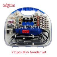 Wholesale 211pcs mm electric grinder die grinder mini grinder set