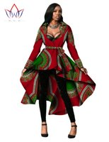 african styles clothing - Women African Clothing Dashiki Trench Coat African Style Long Sleeve Long Skirt Outwear Africa Print Dresses Plus Size XL WY596