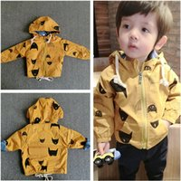 Wholesale boy hooded clothes jacket boy waistcoat Outwear Tench coats winter coats christmas outfits boys jackets kids clothing baby