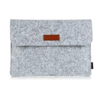 apple ipad mouse - dodocool Inch Felt Sleeve Cover Carrying Case Protective Bag with Mouse Pouch for Apple quot MacBook Air quot MacBook Pro Free DHL DA98