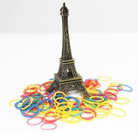 Wholesale 3000Pcs Loom Bands Looms Colar Rubber Bands Loom Bracelets
