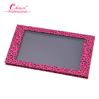 big blue box storage - Empty Magnetic Eyeshadow Palette Big Pink Leopard Contour Makeup Professional DIY Makeup Storage Box