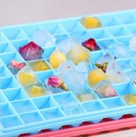 Wholesale 96 Big Ice mold Cubes Diamond Shape Plastics Ice Making Cube Mold Trays Drink Cold Cooler Brand New Good Quality