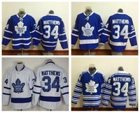 best flashing - 2016 New Draft Toronto Maple Leafs Jersey Blue Auston Matthews Ice Hockey Jerseys Winter Classic Alternate Blue All Stitched Best Quality