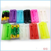 Wholesale Brand new rubber case silicone case dual battery protection rubber cover double battery holder DHL