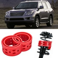 Wholesale 2pcs Size D Rear Car Auto Shock Absorber Spring Bumper Power Cushion Buffer Special For Lexus LX570