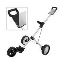 Wholesale New Foldable Wheel Push Pull Golf Cart Folding Trolley Three Wheels Swivel