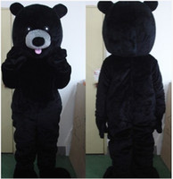 animations themes - The black bear mascot costume custom clothing animation suite Mascot Cartoon carnival theme costumes clothing adult size
