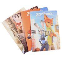 Precio de Cuadernos forrados diarios-Pretty Baby Zootopia 16k 38 páginas de dibujos animados portátil útiles escolares magia del libro forrado páginas folleto diario el bloc de notas # Pt0462 DHL