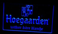 beer belgium - LS482 r Hoegaarden Belgium Beer Bar Neon Light Sign jpg