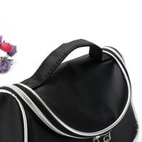 beauty bags cases - New Makeup Cosmetic Bags Retro Beauty Wash Case Zipper Handbag Makeup Bags DHL Free