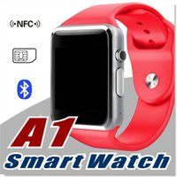 android packaging - A1 Smart Watch Bluetooth DZ09 GT08 Touch Screen Smartwatch Apple iWatch Support SIM TF Card Smart Watches for Smartphone with Retail Package