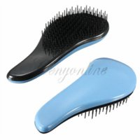 Wholesale 2014 New Arrival Fashion Cute Magic Handle Tangle Detangling Comb Shower Hair Brush Comb Salon Styling Tamer Tool High Quality