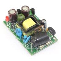 Cheap 5 PCS LOT DIY Mobile Power Supply AC 90~240V 110V 220V To DC 9V 5V 8W Dual Output Voltage Regulator Power Adapter #090883