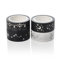 Wholesale pieces gold and sliver DIY washi tape