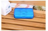 Wholesale Portable Eco friendly Cells Pill Box Plastic Cases Travel medicine pills Storage Case Refillable box Medication pill box