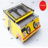 Wholesale bbq grill outdoor barbecue grills indoor gas smokeless ce new brand customized is accepted easy clean