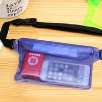 Wholesale 2016 Outdoors Travel mobile phone bag for iphone Kits beach swimming diving rafting pockets waterproof phone bag Three layer