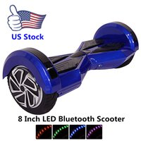 blance - Ship From US Inch Smart Blance Wheel Hoverboard Bluetooth Smart Balance Wheel Electric Skateboard With Key Remote Self Balancing Scooter