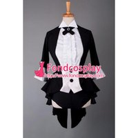 Wholesale Sexy Women s Tail Coat Club Clothing Cosplay Costume Tailor made