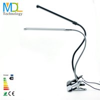 aluminum clip art - LED Table Desk Lamp USB Flexible Reading LED Light Clip on for Book Decoration Work study rechargeable lamp with EU US Plug