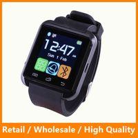 Wholesale 2016 Newest Bluetooth Smart Watch U8 Smart Watch Phone Mate Bluetooth U8 for IOS Andriod iPhone Samsung LG HTC DHL