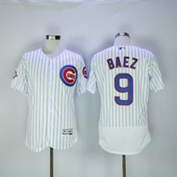 Wholesale 2016 New Arrivals Mens Chicago Cubs Jersey Javier Baez White Elite Flexbase Collection MLB Baseball Jersey Mix order