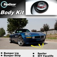 Wholesale Bumper Lip Lips For BMW Z8 E52 Front Skirt Deflector Spoiler For Car Tuning The Stig Recommend Body Kit Strip