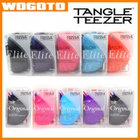 Wholesale Elite Original Tangle Teezer Hair Brush Various Color Hair Care Styling Tools Tangle Teezer Detangling HairBrush Comb Salon Styling Tamer