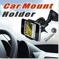Wholesale Car Mount Holder Universal cell phone Car Holders for all Smartphones including iPhone s Plus s s c Samsung Galaxy S6 Edge Plus S6 S5
