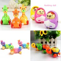 Wholesale 4pcs Classic Tin Clockwork Toys robot Jumping Frog Vintage Colorful funko pop Wind up toys for Children Kids gift