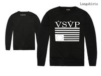 best men s clothing brands - Casual Men VSVP T shirts Men s Streetwear Clothing Fashion Hip Hop long sleeve Round Neck Brand tee best quality