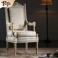 Wholesale French provincial furniture classic living room furniture royal furniture french style furniture manufacturer armchair