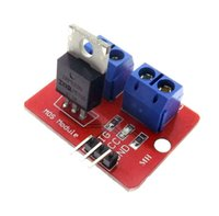 Wholesale V Top Mosfet Button IRF520 MOS Driver Module For Arduino MCU ARM Raspberry pi