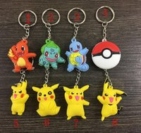 Wholesale D Red Ball Poke Pikachu Silicone Luggage Tag Travel Suitcase Tag Cute Cartoon Luggage Strap Fashion Bag Accessories Size cm