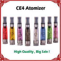 1.6ml big adapter - big sale CE4 Atomizer vaporizer ce4 Electronic Cigarette Clearomizer with Long wick ml adapter all ego t ego w vs mt3 atomizer