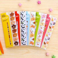 Wholesale Funny cute animal sticky notes stickers memo portable post it bookmark marker home office supplies