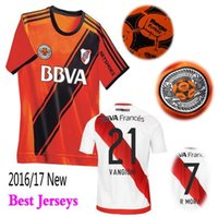 Wholesale Top Thai Guality Argentine New Riverbed season home jersey River Plate jerseys River Plate shirt