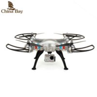 Wholesale 2016 Newest Drone Syma X8G amp X8HG G ch Axis with MP Wide Angle Hd Camera RC Quadcopter RTF Altitude Hold