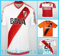 argentina league - 2016 River Plate Jerseys Shirt Sanchez Rodrigo Mora Batistuta Balanta Wholesalers Argentina league Jersey Away Home