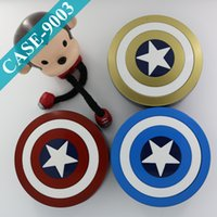 america contact - Captain America Contact Lenses Case Cheap Lens Container Eyeglasses Box Five Pointed Star Eyeglasses Case