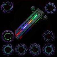 big lots bikes - Waterproof Colorful Bike Light Cycling tire Wheel Spoke LED pattern double sided Big Discount
