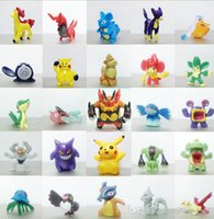 article movies - anime Pocket Monster Toys Action Figures Pikachu furnishing articles doll Poke Monster Pikachu Toys Pvc Movie Action Figure Toys cm KKA774