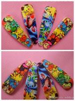 Wholesale PokéMon BB Hair Pins Styles Mini Poke Go Hair Clips Cute Pikachu Bulbasaur Hairpins Fashion Cartoon Hair Accessory For Girls