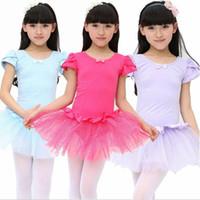 baby gymnastics leotards - Child Kids Baby Girls Leotard Ballet Dress Dancewear Dance Costume Vestido Skating Gymnastics Dancing School Class