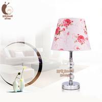 Lámpara de cristal Contemporáneo y contratado CRYSTAL LÁMPARA DE MESA PARA el dormitorio Muchos opcionales