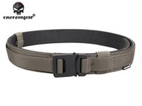 Wholesale Tactical Combat Gear Belt Hard Inch Shooter Belt KH Army Marine Military Style Tactical Quick Release Nylon