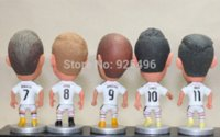 baby football kits - Soccer Doll Kodoto Series Football Club Spanish A League Real Madrid Players White Kit Kroos James Benzema Pieces Dolls