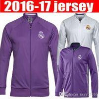Wholesale real madrid jacket jerseys best thai quality real madrid Training suit RONALDO BENZEMA JAMES BALE RAMOS football shirts